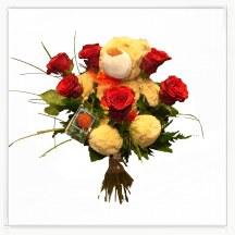 Miś i róże