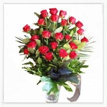 Wiązanka pogrzebowa z róż