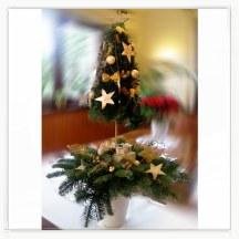 Stroik świąteczny choinka