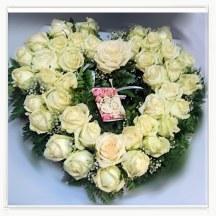 Serce z róż