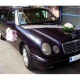 Kompozycja na auto do ślubu