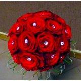 Bukiet z czerownych roż