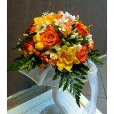 Kolorowy bukiet do ślubu