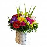 Flowerbox na wiosnę