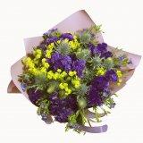 Różowy bukiecik