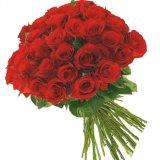 Bukiet z 30 czerwonych róż