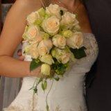 Bukiet ślubny: eustoma i róża